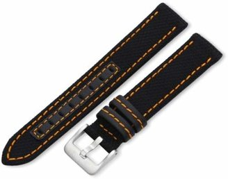 Hadley Roma Hadley-Roma 18mm 'Men's' Watch Strap