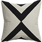 "CB2 Xbase 23"" Pillow With Down-Alternative Insert."