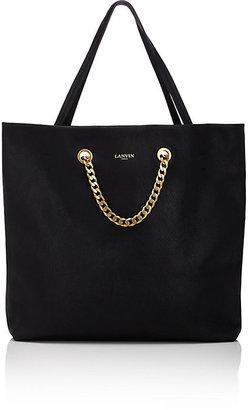 Lanvin Women's Carry Me Medium Tote-BLACK $1,890 thestylecure.com