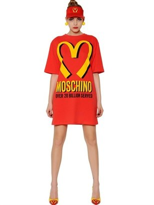 Moschino Capsule Collection Cotton Jersey Dress