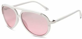 Southpole Womens 133SP WHPNK Aviator Sunglasses