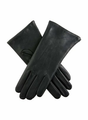 Dents Isabelle Women's Cashmere Lined Leather Gloves BLACK 7