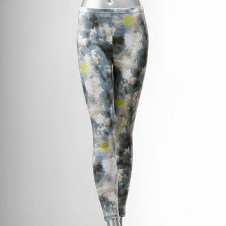 Vera Wang Simply vera abstract leggings