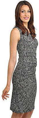 Peter Nygard Petites Sleeveless Side-Ruched Dress
