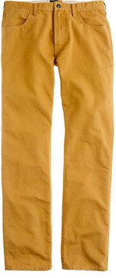 J.Crew Slim-straight washed cotton jean