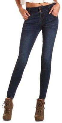 Charlotte Russe Dark Wash High Waist Skinny Jean