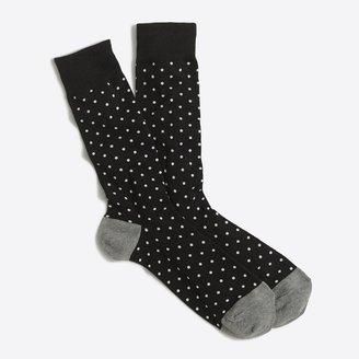 J.Crew Microspot socks
