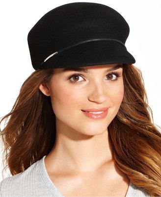 Nine West Classic Felt Newsboy Hat