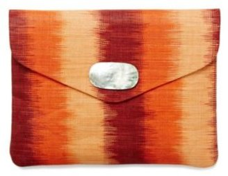 Lucky Brand Envelope Straw Clutch