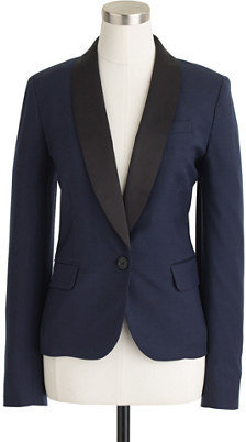 J.Crew Tuxedo blazer in stretch wool flannel