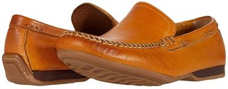Frye Lewis Venetian (Stone Antique Pull Up) Men's Slip on Shoes