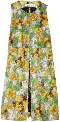 Marni Sleeveless fil coupé coat