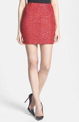 One Rad Girl Sequin Miniskirt