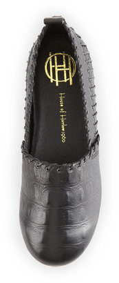 House Of Harlow Kye Whipstitch Loafer, Black