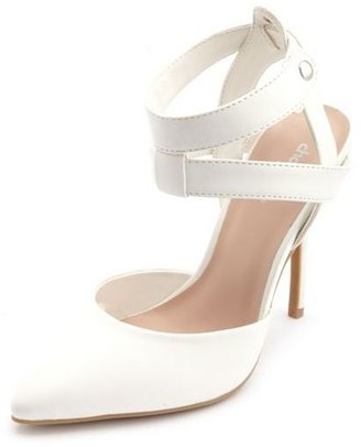 Charlotte Russe Strappy Pointy Toe Pump