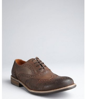 Kenneth Cole Reaction brown leather 'B-Rouge' wingtips
