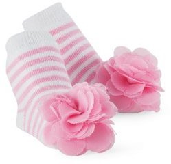 Mud Pie Princess Stacy Pink Sock