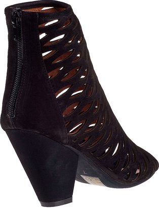 Jeffrey Campbell Produce Ankle Boot Black Suede