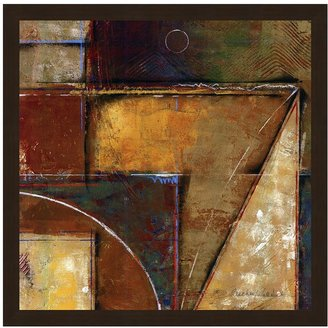 """Fischer """"Feats Of Engineering 122"""" Framed Canvas Wall Art by Warnica"""