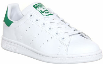 adidas Stan Smith Trainers Core White Green