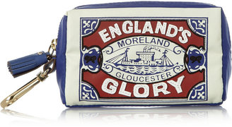 Anya Hindmarch England's Glory packable twill tote