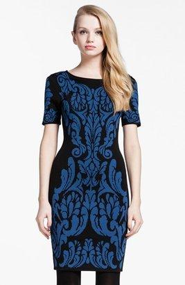 Cynthia Steffe 'Briella' Patterned Sweater Dress