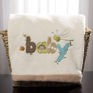 Carter's wild life boa blanket