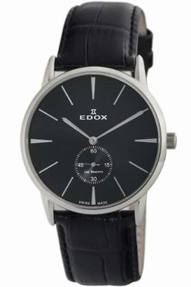 Edox Men's 72014 3 NIN Les Bemonts Ultra Slim Watch