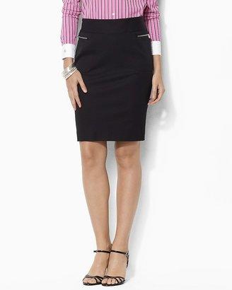 Lauren Ralph Lauren Stretch Twill Skirt