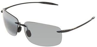 Maui Jim Breakwall (Gloss Black/Neutral Grey Lens) Sport Sunglasses