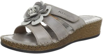 Fly Flot FlyFlot 390347 Clogs and Mules Womens Gray Grau (Rovere) Size: 6.5 (40 EU)