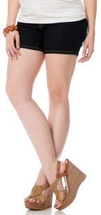 Motherhood Side Panel Slim Fit Maternity Shorts