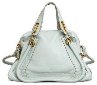 Chloé Paraty Medium Shoulder Bag, Blue
