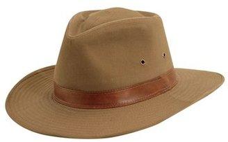Men's Dorfman Pacific Cotton Outback Hat - Brown $40 thestylecure.com