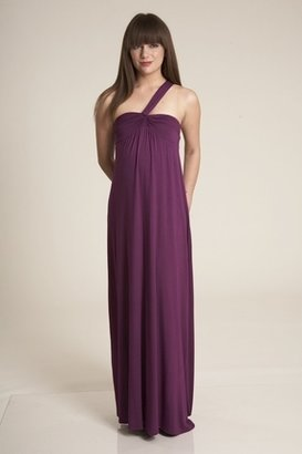 Lauren Conrad Nora Long Dress in Sugarplum $270 thestylecure.com