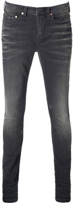 Neil Barrett Super Skinny Jeans in Slate Grey