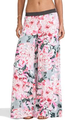 BB Dakota Sundra Wide Leg Floral Pant