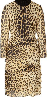 Moschino Cheap & Chic Silk Printed Dress