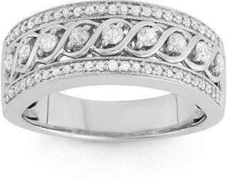 MODERN BRIDE 1/2 CT. T.W. Diamond 10K White Gold Anniversary Band $874.99 thestylecure.com