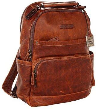 Frye Logan Backpack (Slate) Backpack Bags