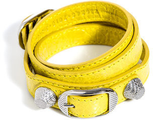 Balenciaga Studded leather bracelet