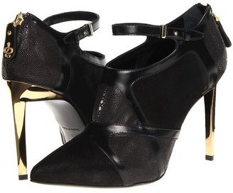 Roberto Cavalli Stingray Bootie (Black) - Footwear