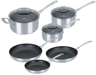 Kevin dundon pro 9-pc. nonstick aluminum cookware set