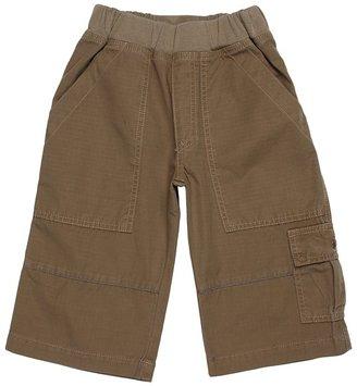 Charlie Rocket Rib Waist Ripstop Cargo Short (Toddler/Little Kids/Big Kids) (Bark) - Apparel