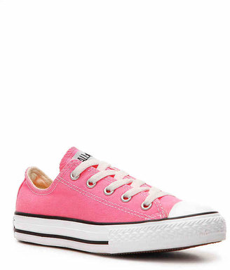 Converse Girls Chuck Taylor All Star Toddler & Youth Sneaker -Pink