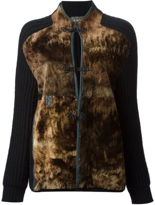 Gianfranco Ferre Pre-Owned panelled cardigan