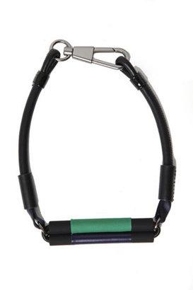 3.1 Phillip Lim Neoprene Leather Axle Necklace