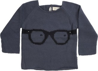 Oeuf Knit Glasses Sweater