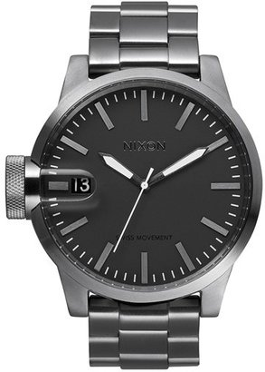 Nixon 'The Chronicle' Stainless Steel Watch, 48mm