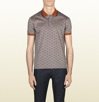 Gucci Piqué Short Sleeve Polo